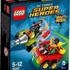 LEGO Super Heroes 76062 Mighty Micros: Robin vastaan Bane