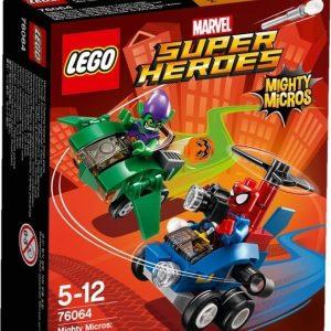 LEGO Super Heroes 76064 Mighty Micros: Spider-Man vastaan Vihreä Menninkäinen