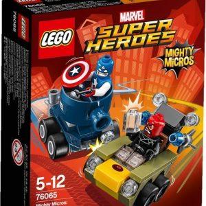 LEGO Super Heroes 76065 Mighty Micros: Kapteeni Amerikka vastaan Punakallo