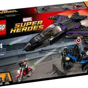 LEGO Super Heroes Mustan Pantterin takaa-ajo