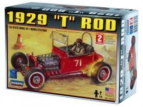 LINDBERG 29 Ford T Rod 1/25