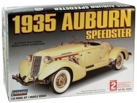 LINDBERG 35 Auburn Speedster 1/25