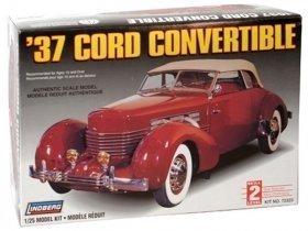 LINDBERG 37 Cord Convertible 1/25