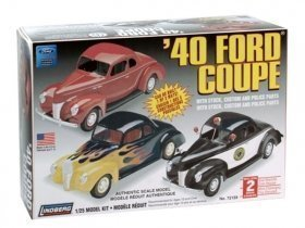 LINDBERG 40 Ford Costum Coupe 1/25