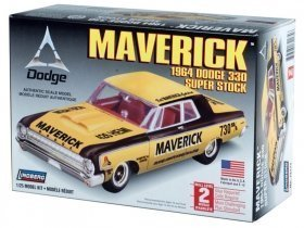 LINDBERG 64 Dodge Maverick 1/25