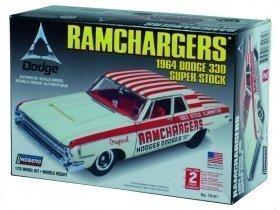 LINDBERG 64 Dodge Ram Chargers 1/25