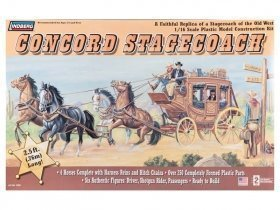 LINDBERG Concord Stage Coach 1/16