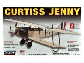 LINDBERG Curtiss Jenny 1/48