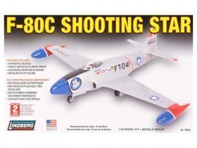 LINDBERG F-80C Shooting Star 1/48