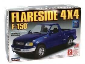 LINDBERG Ford Flairside 4x4 1/25