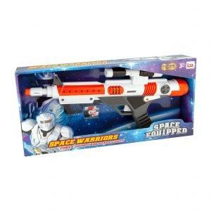 Laserkivääri 47 Cm Valoilla Ja Äänillä