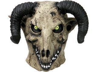 Latex mask goat devil