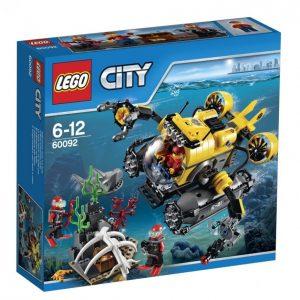 Lego City 60092 Syvänmeren Sukellusvene
