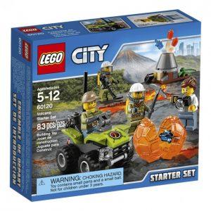 Lego City 60120 Tulivuoren Aloitussarja