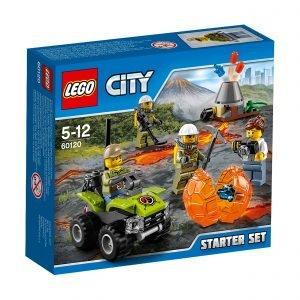 Lego City 60120 Tulivuoren Aloitussetti
