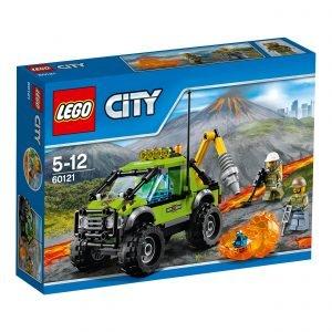 Lego City 60121 Tulivuoren Tutkimusauto
