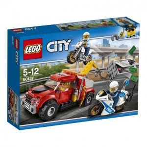 Lego City 60137 Police Hinausauto Pulassa