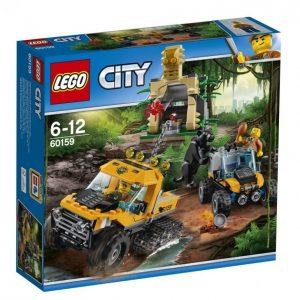 Lego City 60159 In/Out 2017 Viidakon Puolitelaketjuauton Tehtävä