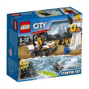 Lego City 60163 Coast Guard Rannikkovartioston Aloitussarja