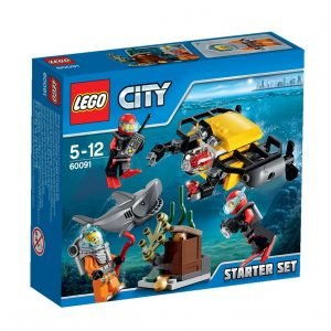 Lego City Deep Sea Explorers 60091 Syvänmeren Aloitussarja