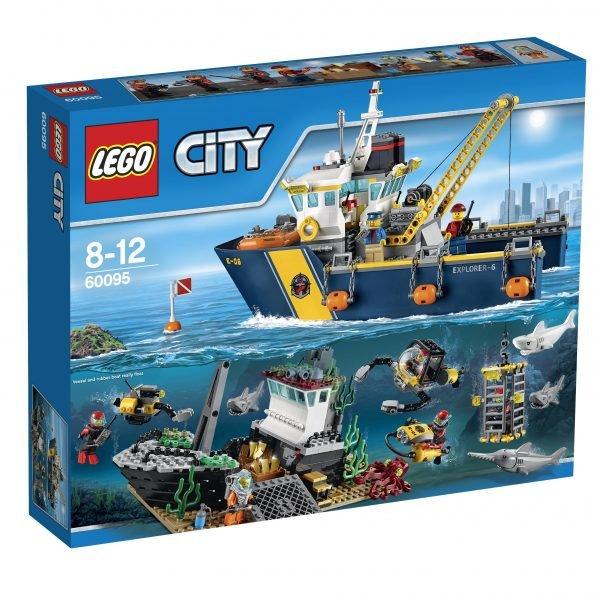 Lego City Deep Sea Explorers 60095 Syvänmeren Tutkimusalus