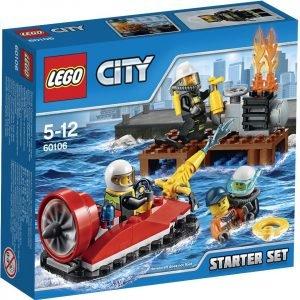 Lego City Fire 60106 Palokunnan Aloitussetti