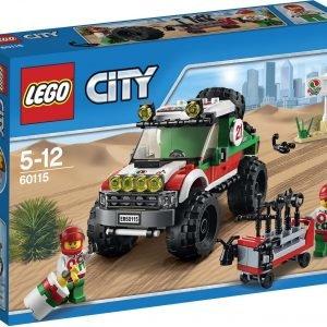 Lego City Great Vehicles 60115 Nelivetomaasturi