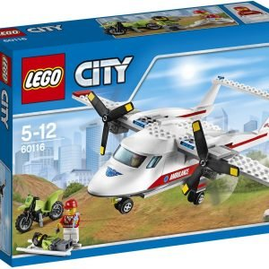 Lego City Great Vehicles 60116 Ambulanssikone