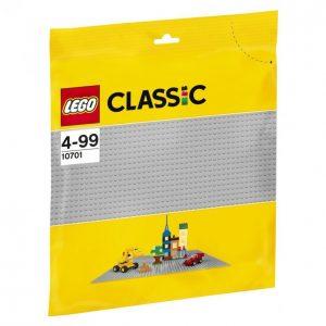 Lego Classic 10701 Rakennuslevy Harmaa