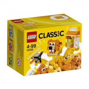 Lego Classic 10709 Oranssi Luovuuden Laatikko