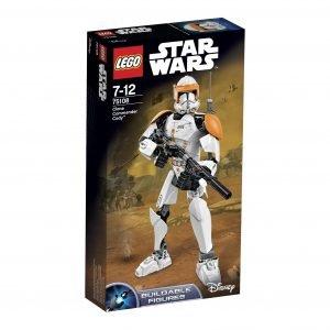 Lego Constraction Star Wars 75108 Kloonikomentaja Cody