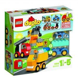 Lego Duplo Creative Play 10816 Ensimmäiset Ajoneuvoni