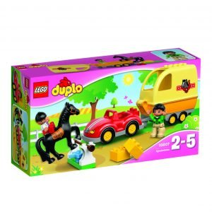 Lego Duplo Town 10807 Hevoskuljetusvaunu