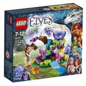 Lego Elves 41171 Emily Jones & Pieni Lohikäärme