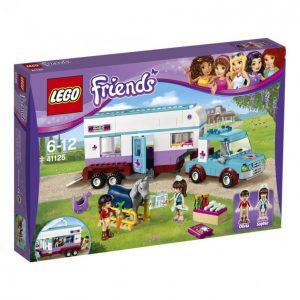 Lego Friends 41125 Eläinlääkärin Hevosvaunu