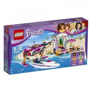 Lego Friends 41316 Andrean Pikavenetraileri