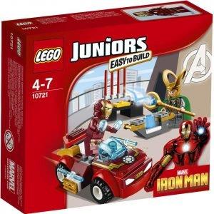 Lego Juniors 10721 Iron Man Vastaan Loki
