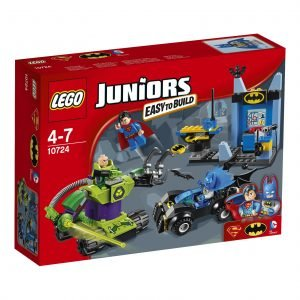Lego Juniors 10724 Batman Ja Superman Vs. Lex Luthor