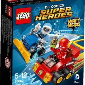 Lego Marvel Super Heroes 76063 Mighty Micros: Salama Vastaan Kapteeni Pakkanen