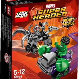 Lego Marvel Super Heroes 76066 Mighty Micros: Hulk Vastaan Ultron