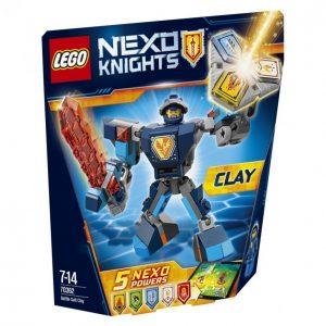Lego Nexo Knights 70362 Taistelupukuinen Clay