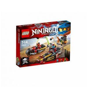 Lego Ninjapyörätakaa Ajo 70600