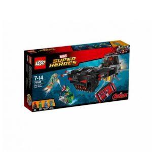 Lego Rautakallon Hyökkäys Pinnan Alla 76048
