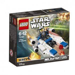 Lego Star Wars 75160 U-Siipinen Mikrohävittäjä