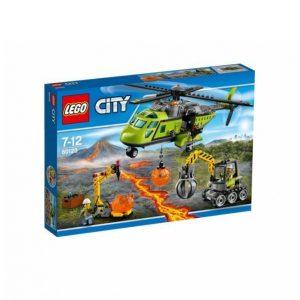 Lego Tulivuoren Jakeluhelikopteri 60123