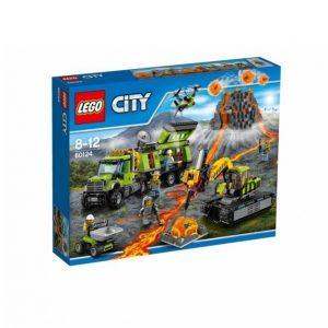 Lego Tulivuoren Tutkimustukikohta 60124