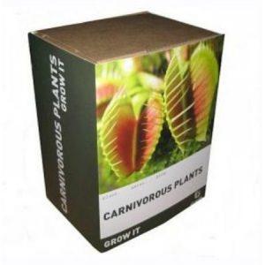 Lihansyöjäkasvin kasvatuspaketti