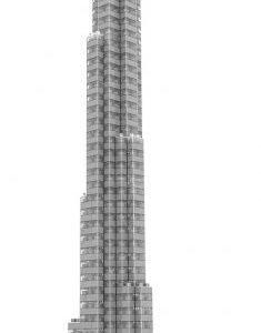 Loz Architecture Burj Khalifa Tower
