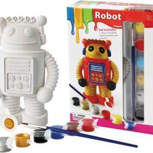 Måla hahmo posliinia Robotti