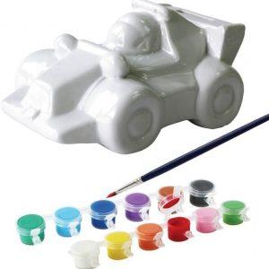 Måla säästölipas posliinia Kilpa-auto